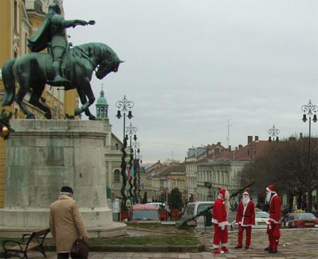 Mikulás találkozó - Pécs